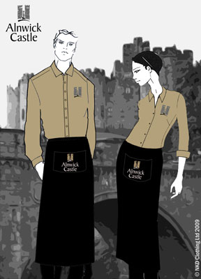 Alnwick Castle uniform designs