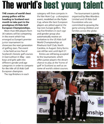 Golf Now article