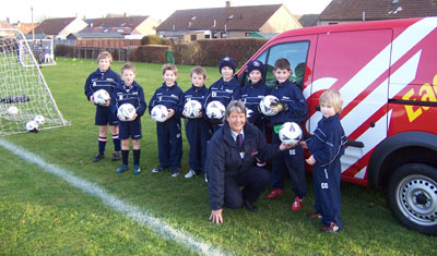 Aberlady kids football team