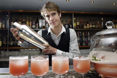 Rick's promotes new gallon cocktail shaker thanks to Holyrood Partnership PR in Edinburgh