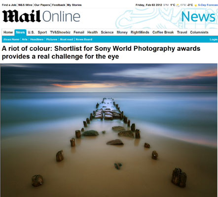 Dailymail Sony World Photography awards
