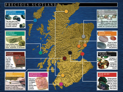 Jeweller Draws Up Unique Map of Precious Scotland – with help of PR ...
