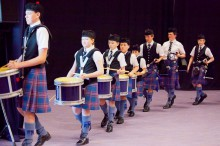 The Scottish Schools Pipe Band Championships has been featured in Edinburgh Evening News