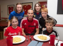 Sodexo's New Free Kids Club at Pittodrie home to AFC
