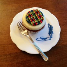 Robert Burns Cupcake