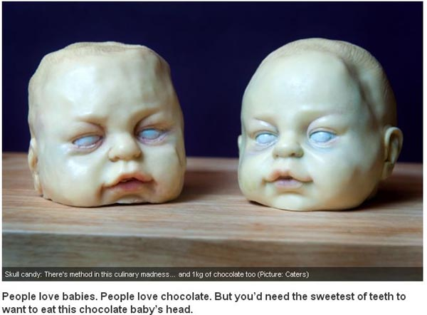 Chocolate Baby Heads
