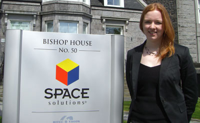 Rhona Turnbull of Space Solutions