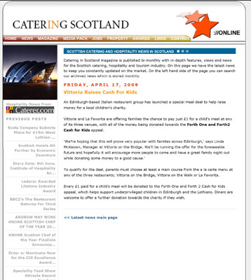 Catering in Scotland