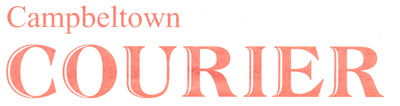 Campeltown Courier masthead