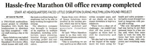 Marathon Oil in P&J