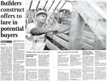 Warners coverage in The Scotsman, highlighted by Holyrood Partnership PR in Edinburgh