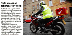 Eagle Library deal in The Scotsman