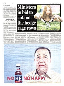 Scothedge headlines highlighted by Holyrood PR PR in Scotland