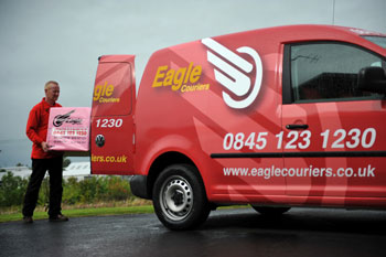 Eagle Couriers enjoys positive headlines thanks to Holyrood Partnership PR in Scotland
