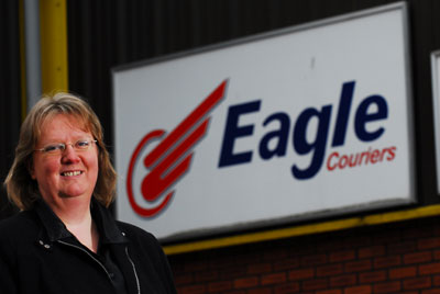 Fiona Deas, Director of Eagle Couriers