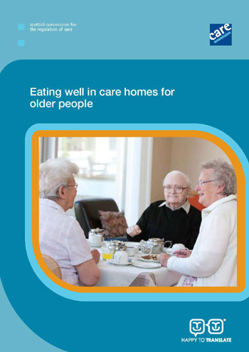 Care Commission Eating Well report
