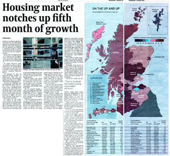Warners coverage in The Scotsman, secured by Holyrood PR PR in Scotland