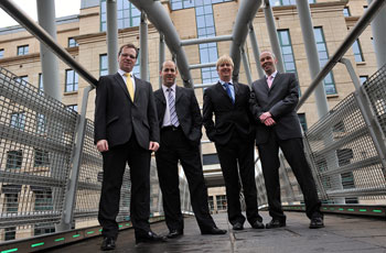 Space Solutions' directors are supported by Holyrood Partnership PR in Edinburgh