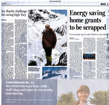 Solar Power Scotland headlines secured by Holyrood Partnership PR in Scotland