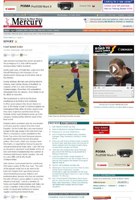 U.S. Kids Golf coverage secured by Holyrood PR PR in Scotland