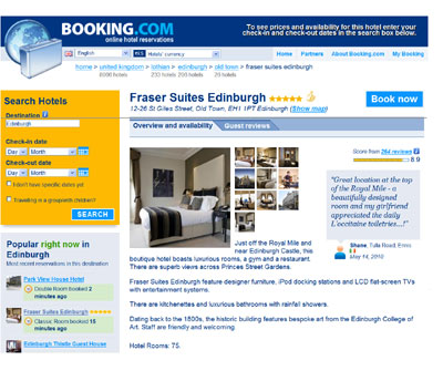 Fraser Suites on Booking.com