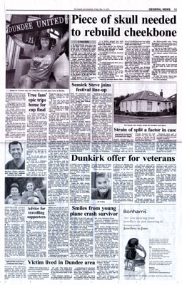 Norfolkline Veteran Offer in Courier & Advertiser