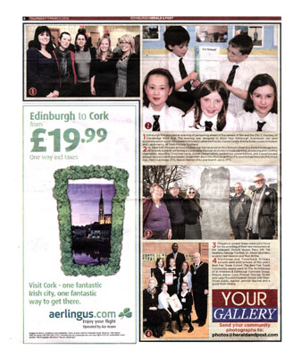 Herald & Post Print Picture of Travelodge PA Event