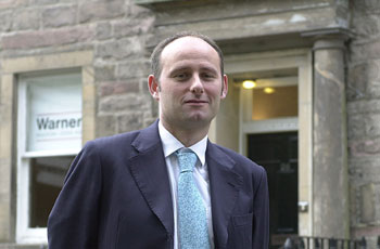 Warners partner Scott Brown is supported by Holyrood PR PR in Scotland
