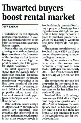 Citylets in Scotsman