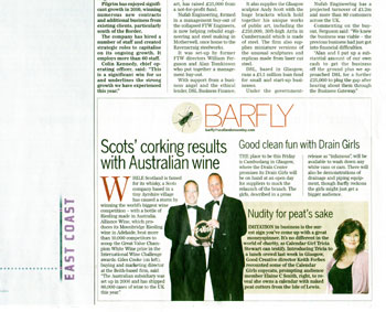 Alliance Wine coverage secured by Holyrood Partnership PR in Scotland
