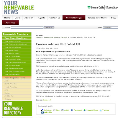 Ennova 11-08 Your Renewable News