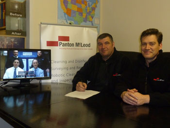 Panton McLeod directors sign contract with Maher Services