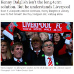 Kenny Dalglish Blog