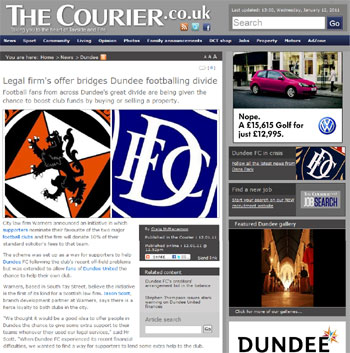 Warners coverage secured by Holyrood Partnership PR in Scotland