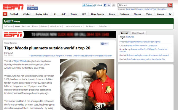 holyrood high 5 hp sauce tiger woods espn