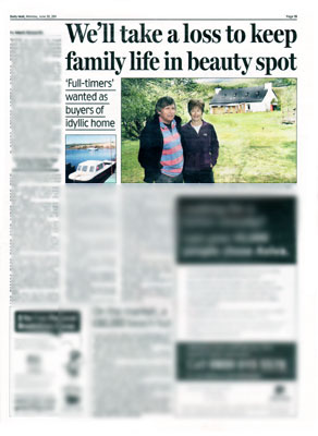 holyrood pr provides pr for bell ingram who featured in the daily mail for a property from its estate agency