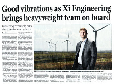 Xi Engineering, PR Scotland