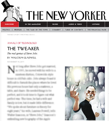 The New Yorker Steve Jobs