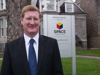 Space Solutions new Finance Director Martin Orr
