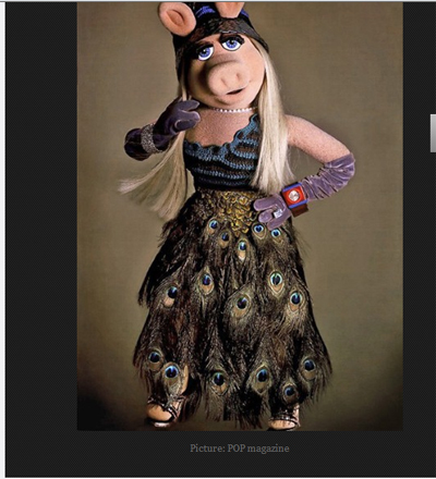 The Telegraph Miss Piggy