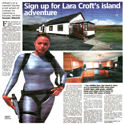 Bell Ingram sells Lara Croft