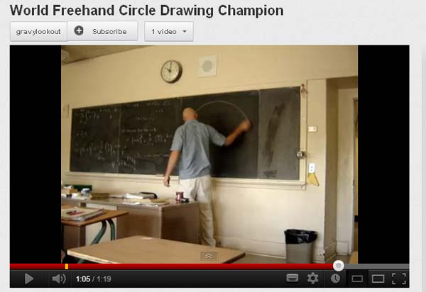 Youtube free hand circle drawing