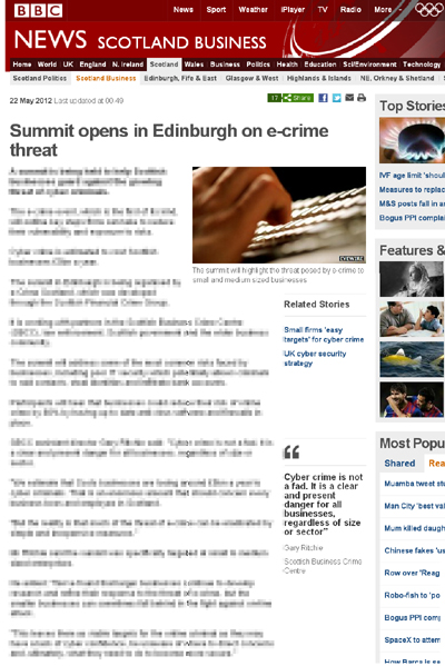 Scottish Business Crime Centre
