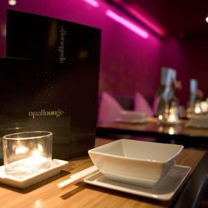 Food and Drink PR photography Opal lounge menu Edinburgh by Holyrood PR