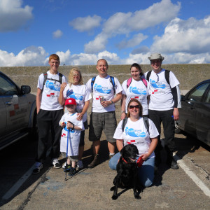 PR in Scotland, Panton mcledo charity walk PR media coverage success