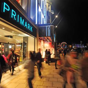 Consumer PR campaign for launch of Primark Princes Street