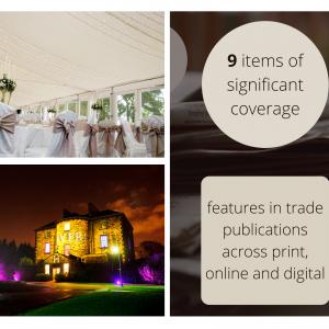 Hospitality PR photography media coverage success for Sodexo prestige