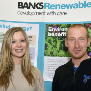 PR photography for Banks Renewables by Edinburgh PR agency Holyrood PR