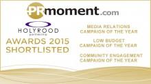 PR Agency in Scotland nominated for UK wide awards