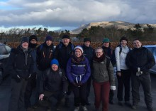 """A team from Blackwood, nicknamed """"The Blackwood Bauchles"""" are raising money for Foundation Scotland by walking the West Highland Way in twenty-four hours."""